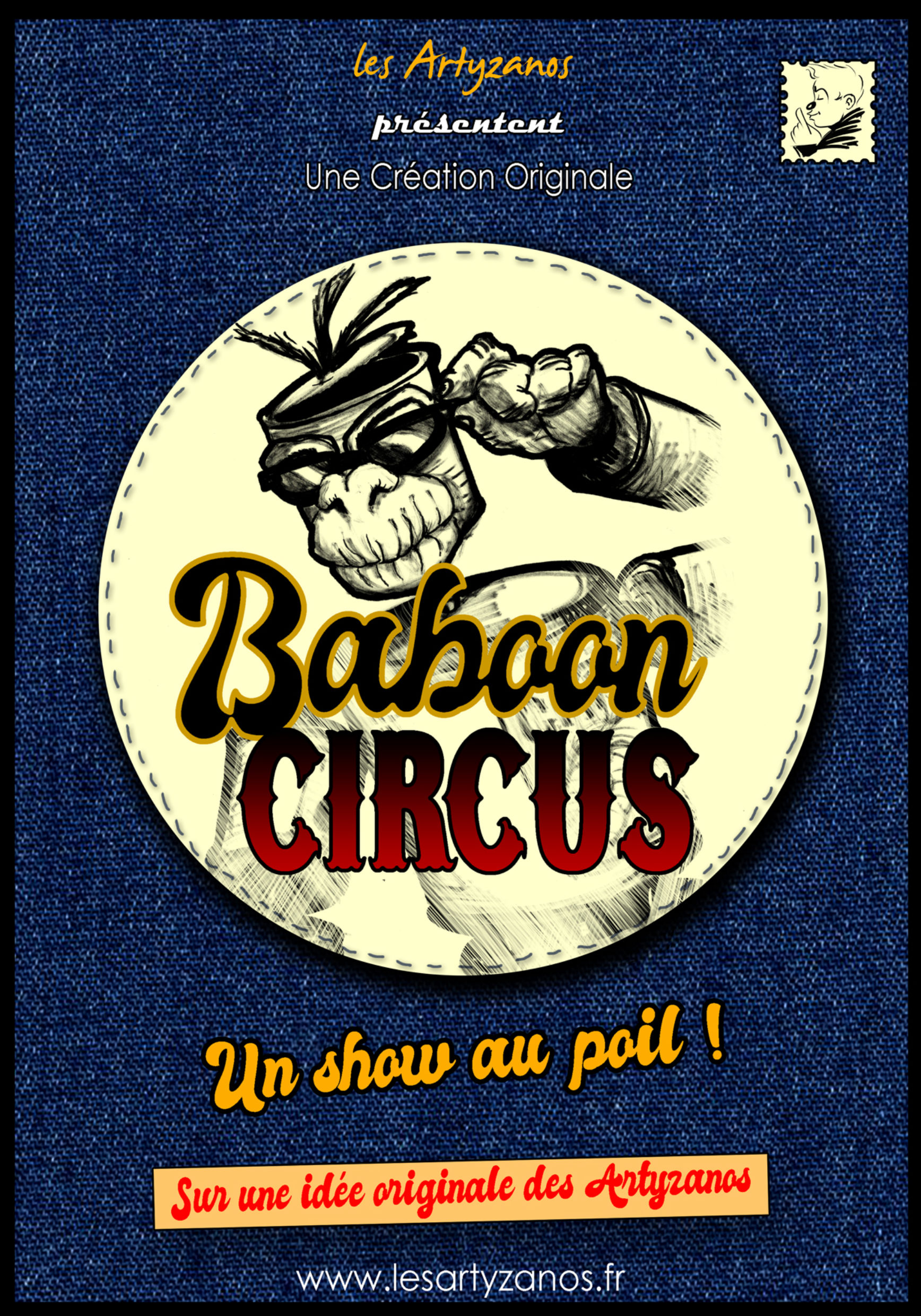 Affiche Baboon Circus 2020